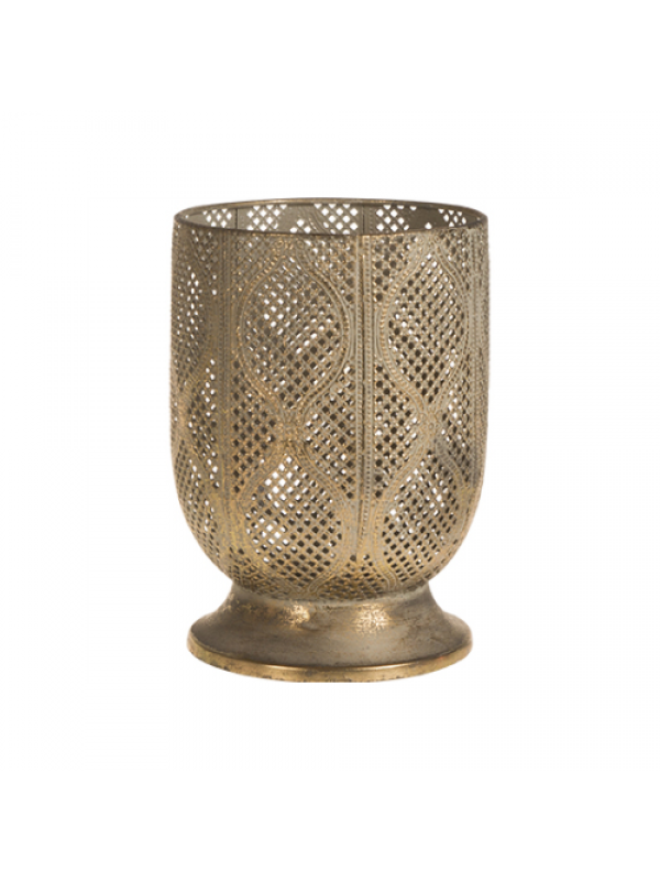 Siga Design Lysestage - Candle Light Holder Small, Gold Antique