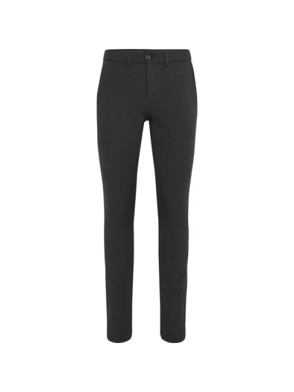 Casual Friday Bukser - Philip Performance Pant Slim Fit, Dark Grey Melange