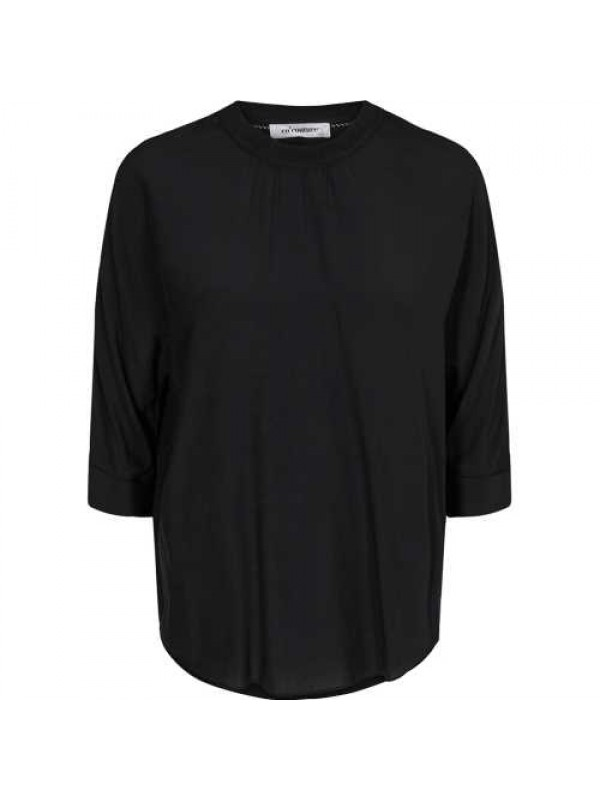 Co'Couture Bluse - Norma, Sort