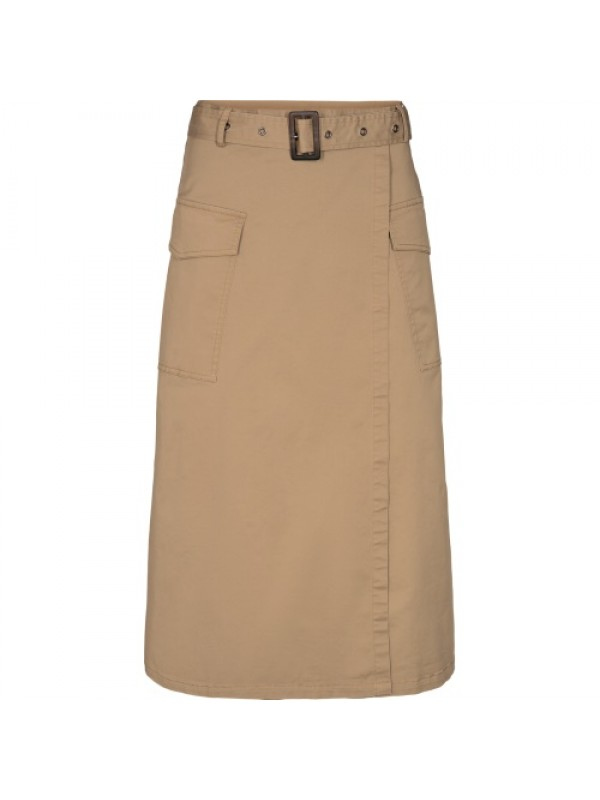 Co'Couture Nederdel - Trinity Skirt, Beige