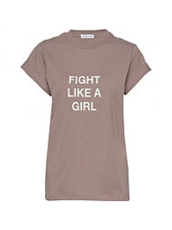 Designers Remix T-Shirt - Stanley Fight Tee, Taupe