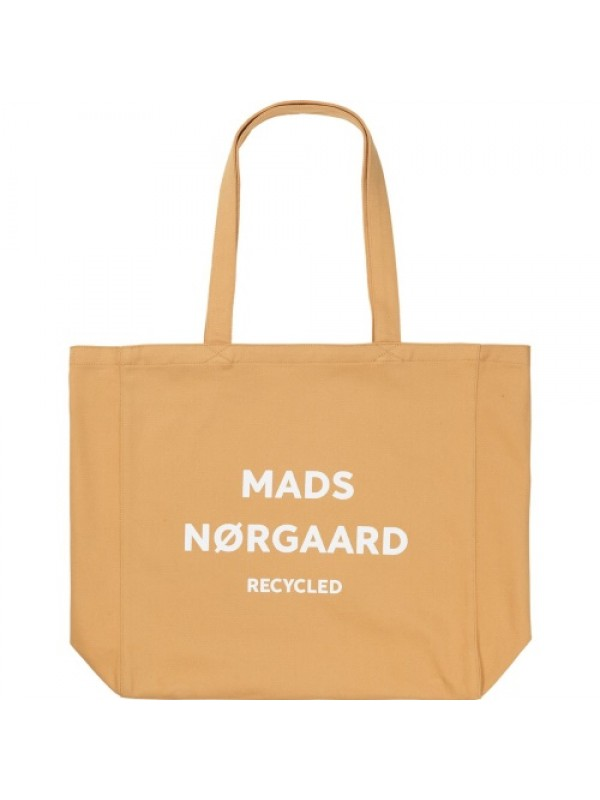 Mads Nørgaard Mulepose - Recycled Boutique Athene, Tan/White