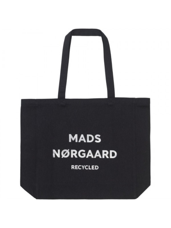 Mads Nørgaard Mulepose - Recycled Boutique Athene, Black/Silver