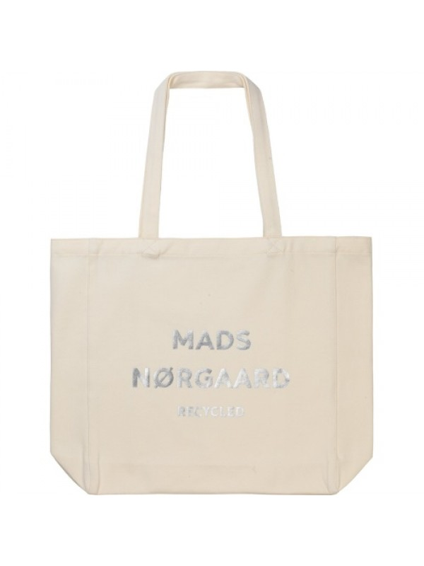 Mads Nørgaard Mulepose - Recycled Boutique Athene, Ecru/Silver