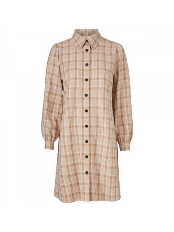 Modström Kjole - Giana Dress, Beige Check