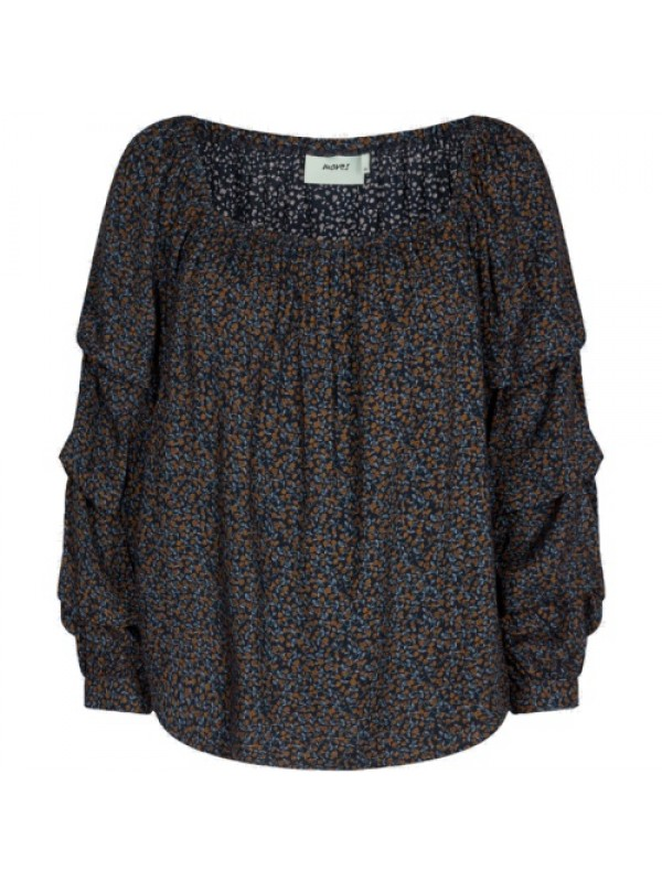 Moves Bluse - Madrina Long Sleeved Blouse, Sort