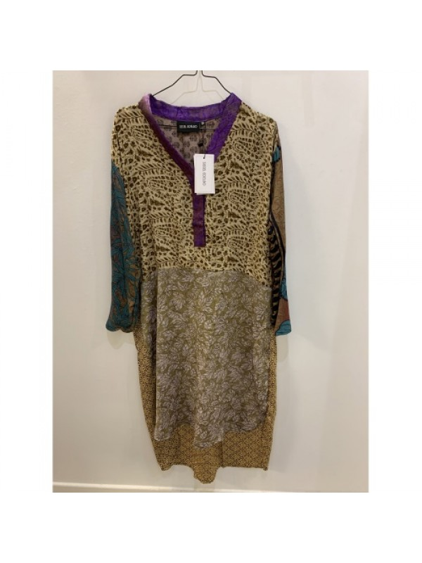 Sissel Edelbo - Fleur De Lis Mix Caftan Dress