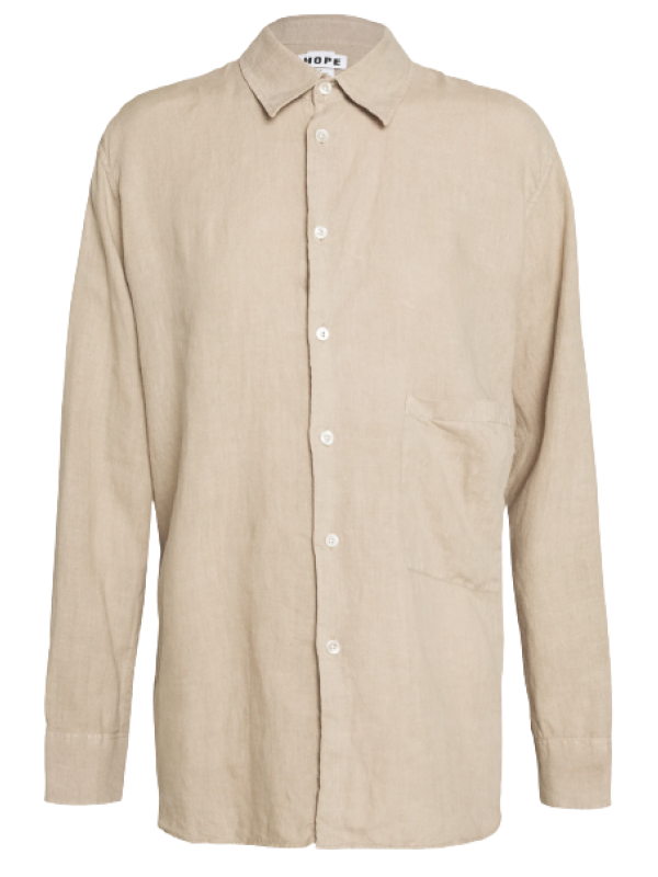 Hope Skjorte - Elma Shirt, Beige