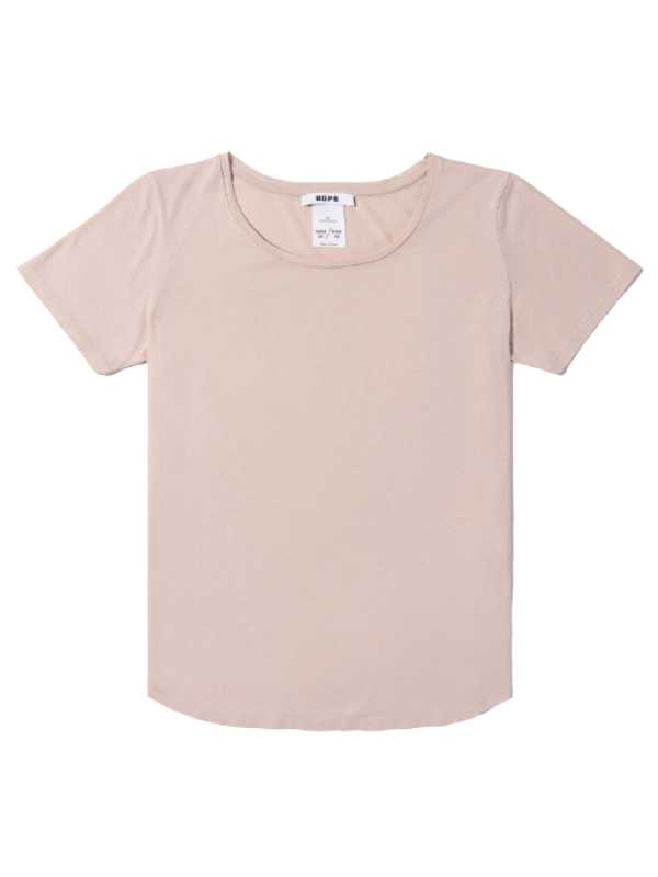 Hope T-Shirt - One Tee , Dusty Pink