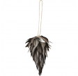 House Doctor Ornamenter Feather Cone - 15 Cm